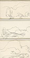 Markey Robinson (1918-1999) SKETCHES (SET OF THREE)