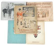 Slipper''s ABC and four illustrated books on fox hunting and country pusuits. (5)
