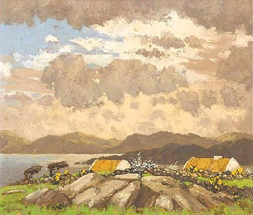 Mabel Young (1889-1974) WEST OF IRELAND COTTAGES