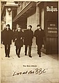 1963 (April). The Beatles Live at The BBC promotional poster