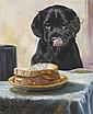 John Trickett (b.1953) BACON SANDWICH signed lower, John Trickett, Click for value
