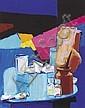 Bob Lynn (b.1940) STUDIO NO. 3, 2006 oil on canvas, Robert Lynn, Click for value
