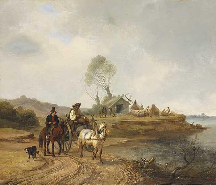John O'Connor ARHA RI (1830-1889) THE