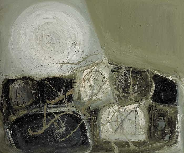 Anita Shelbourne RHA (b.1938) LANDSCAPE signed on