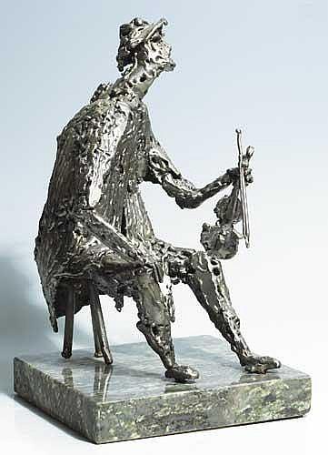 John Coll (b.1956) RAFTERY, 1985 artist's label