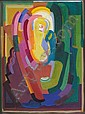 Evie Hone HRHA (1894-1955) CUBIST COMPOSITION, Evie Hone, Click for value