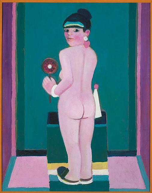 Jack Donovan (b.1934) - NUDE GIRL