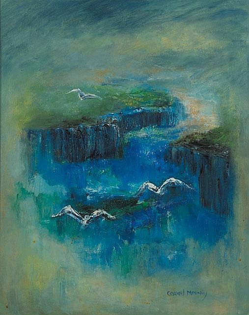 Carmel Mooney  - CLIFFS AND BIRDS
