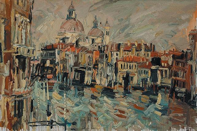 Colin Davidson RUA (b.1968) - THE GRAND CANAL VENICE, 2001