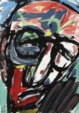 Michael Kane (b.1935) HEAD VII (HOMAGE TO PATRICK KAVANAGH), 1987