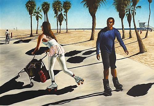 "Mark (""Rasher"") Kavanagh (b.1977) THE SKATERS, 2004"