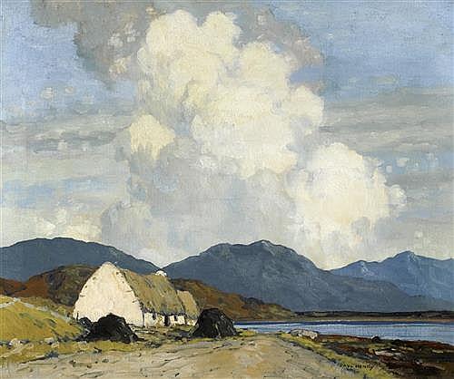 Paul Henry Rha 1876 1958 Connemara Landscape 1930 1940