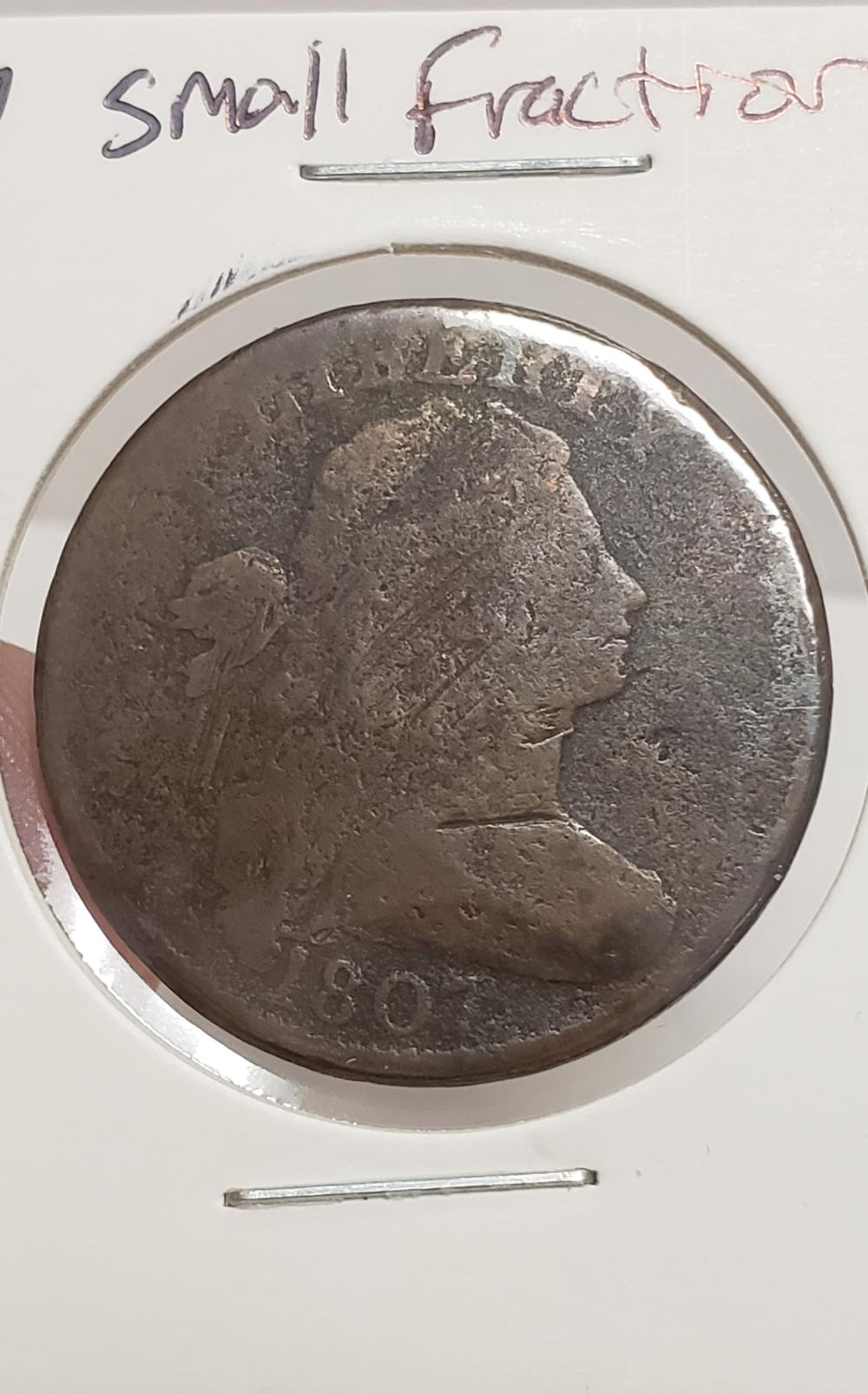 1807 Draped Bust Large Cent