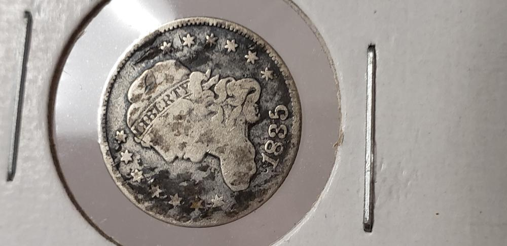 1835 5 cent Silver