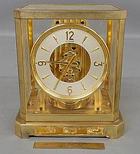Swiss LeCoultre 15 jewel Atmos clock. 9.25