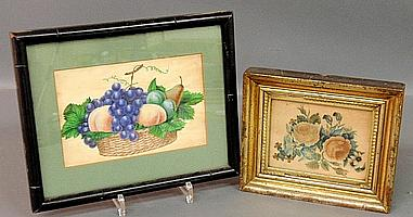 Two framed theorems, one w/basket of fruit 5.125