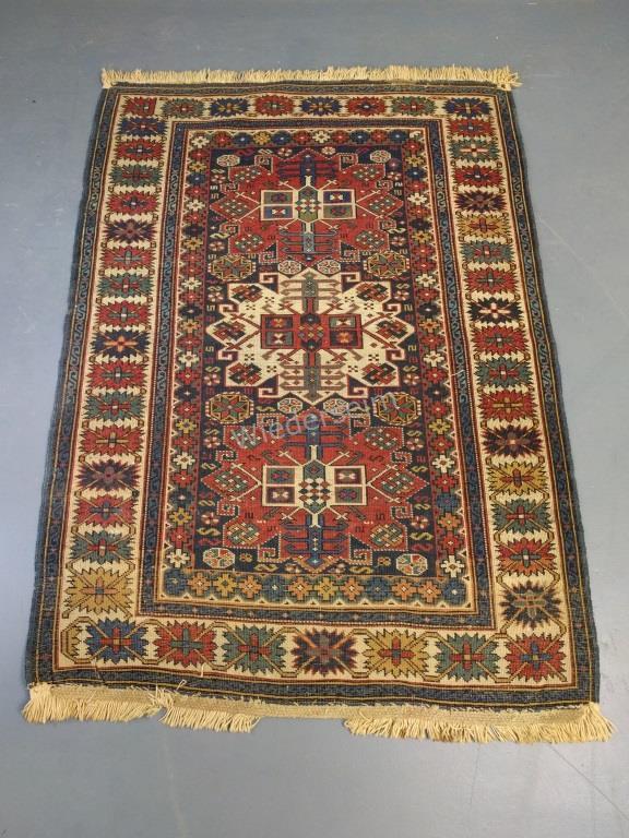 Colorful Caucasian Oriental Mat