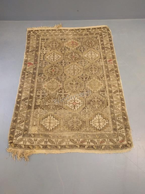 Kazak Center Hall Oriental Mat