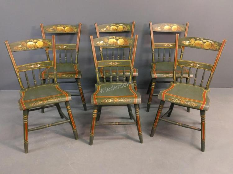 Pennsylvania Half-spindleback Chairs