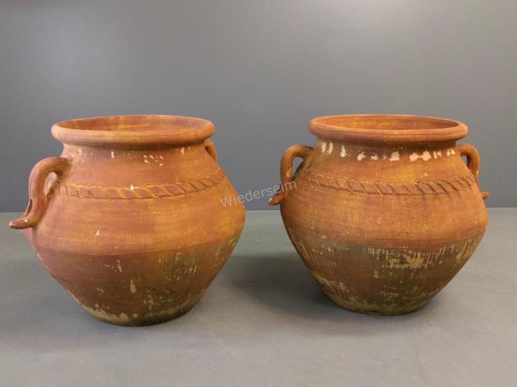 Pair of Terra-cotta Pots