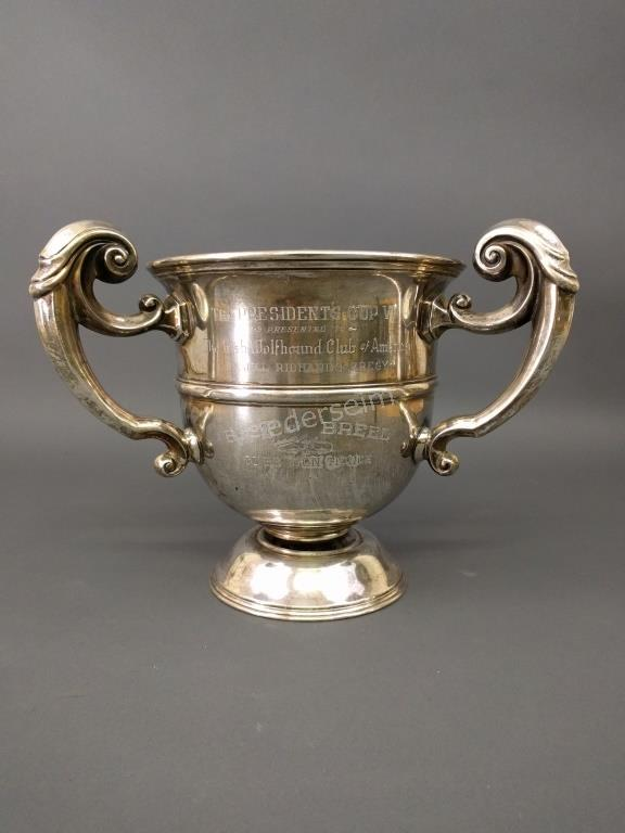 Silver Plate Trophy