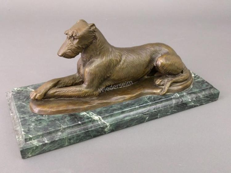 Bronze Limited Edition Irish Wolfhound Sculpture