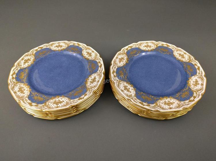 Twelve Royal Doulton Service Plates
