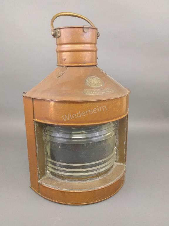 Copper Starboard Ship's Lantern