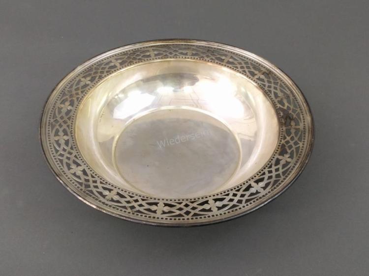Tiffany Sterling Silver Deep Dish