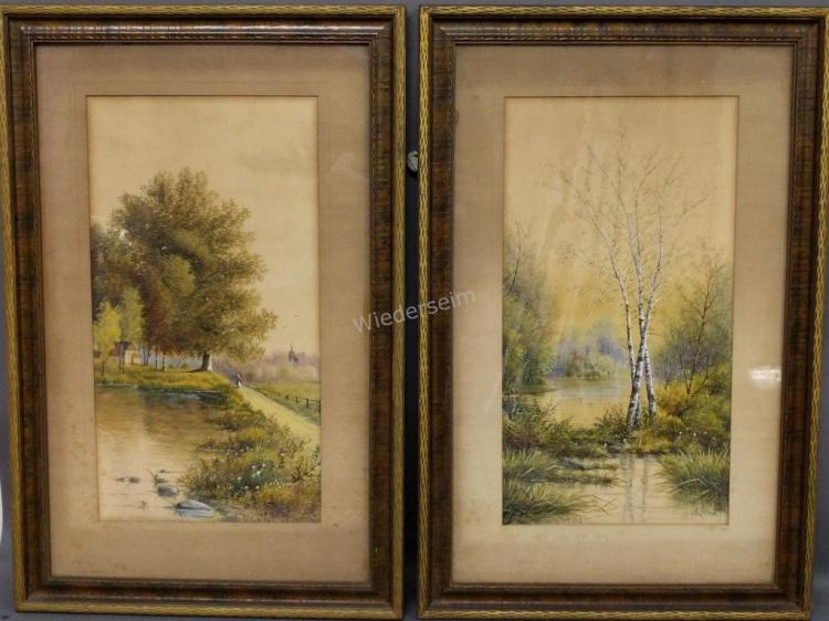 Paintings Signed W. Nelson