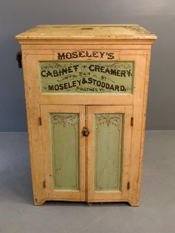 Moseley & Stoddard Cabinet Creamery