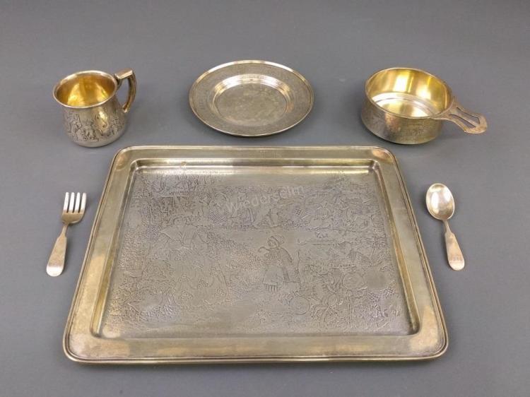 Sterling Silver Child's Set