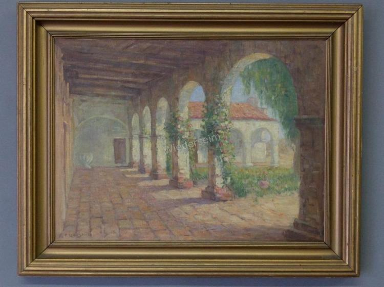Painting signed R. Carl Smith