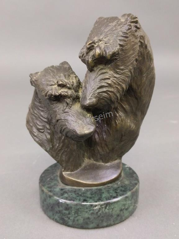 Irish Wolfhound Bronze by D.L. Engle