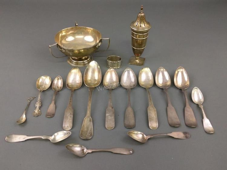 Miscellaneous Grouping of Silver