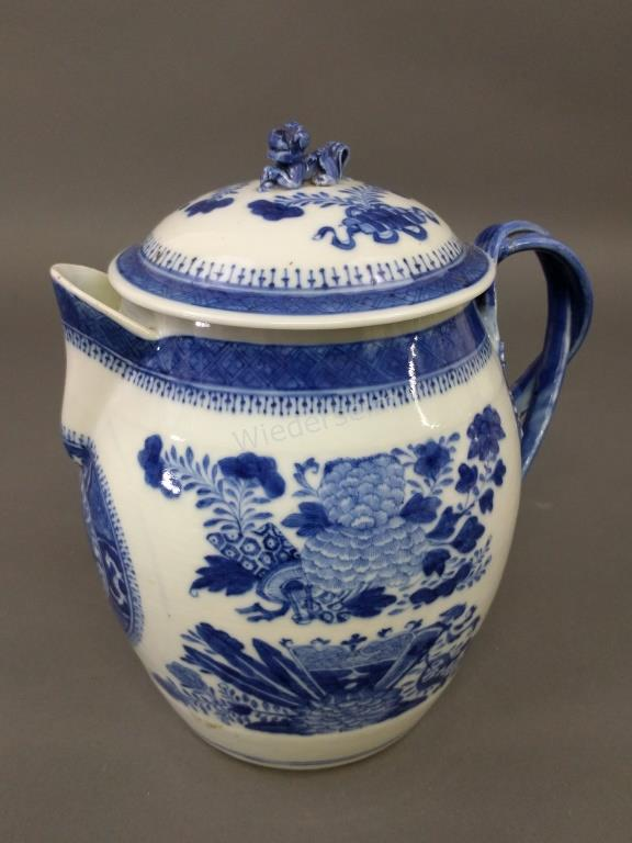 Fitzhugh Chinese Porcelain Cider Jug