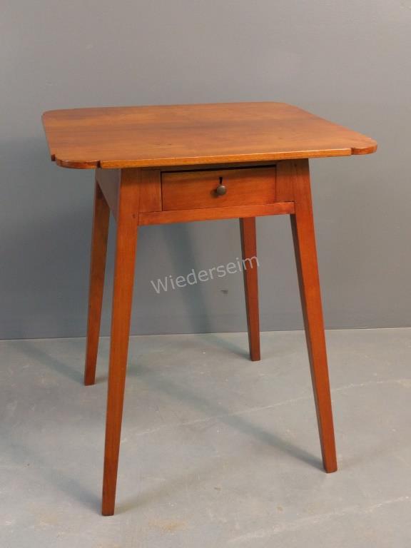 Hepplewhite Walnut Work Table