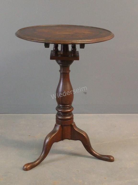 Lancaster County Walnut Candle Stand