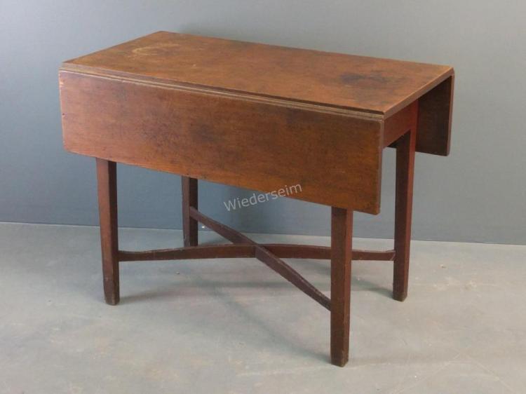 New York Hepplewhite Cherry Pembroke Table