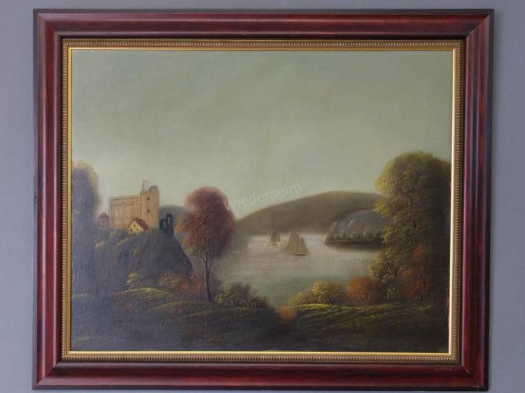 Hudson River School Painting