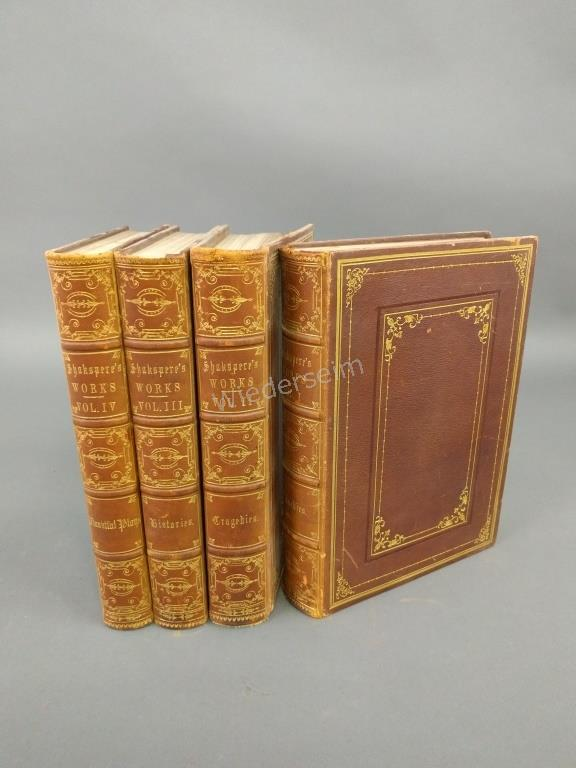 Four Volumes of Shakespeare's Works