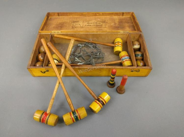 Boxwood Table Croquet Set