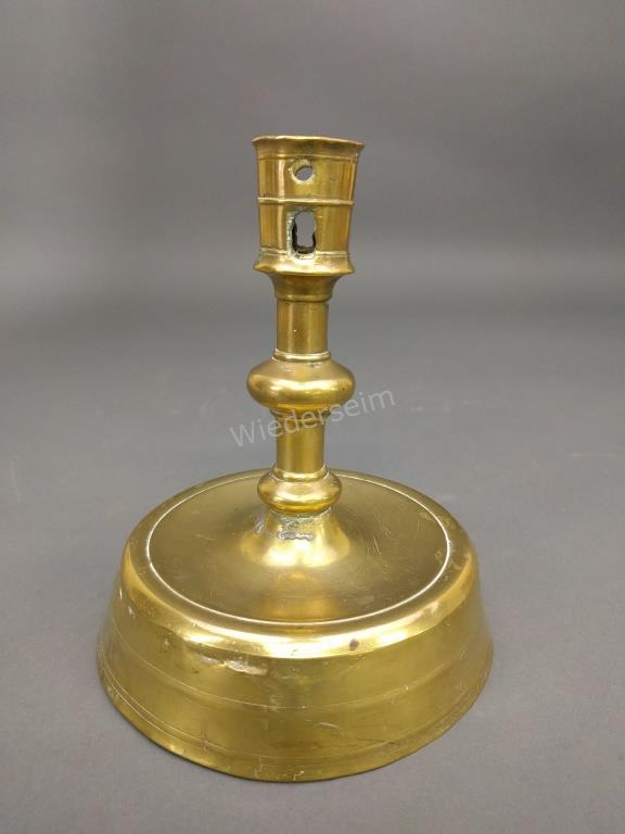 Dutch Brass Candlestick