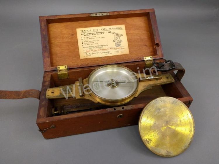Brass surveyor