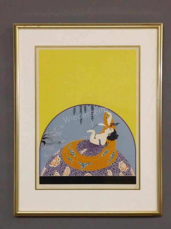 Color Lithograph by Erte
