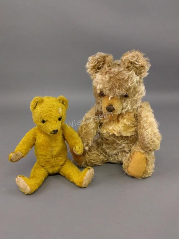 Mohair Jointed Teddy Bear, etc.