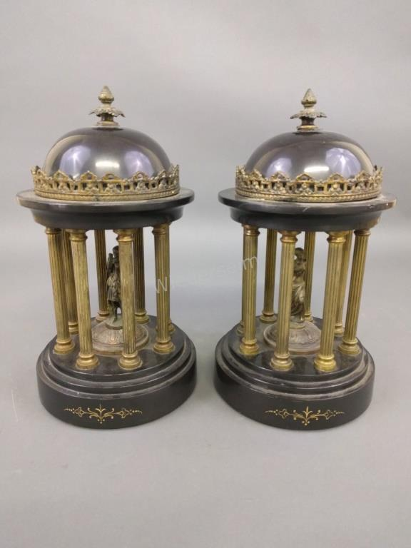 French Gilt Grand Tour Monuments