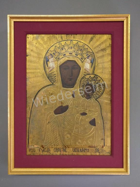 Framed Polish Icon