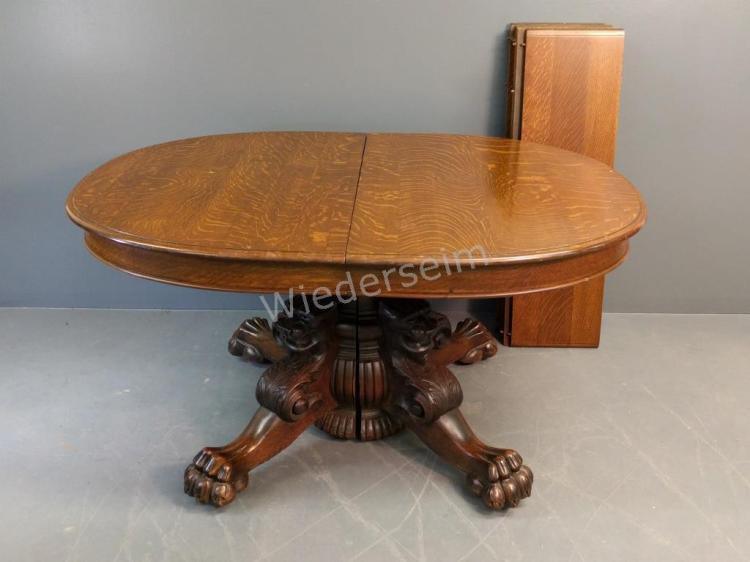 Oak Banquet Table