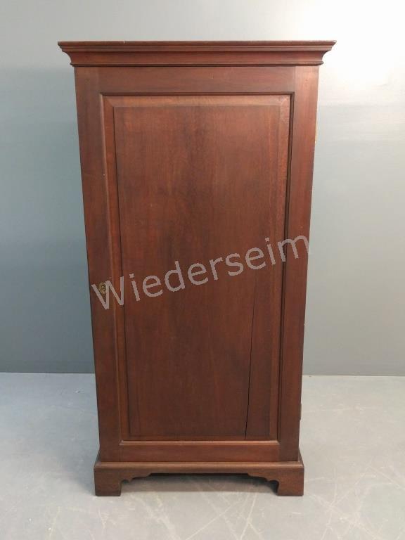 English Mahogany Blind Door Cupboard